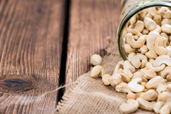Dried Cashew Nuts Stock Images