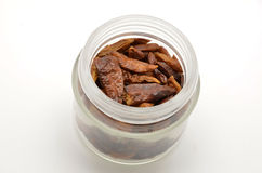 Dried cayenne Stock Image