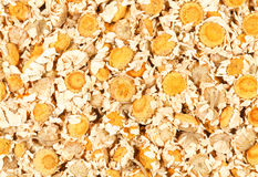 Dried Chamomile Flowers. Background of dried chamomile flowers. Medicinal herb, Matricaria Chamomilla royalty free stock images