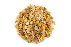 Dried chamomile tea royalty free stock photos