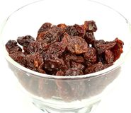 Dried cherries Royalty Free Stock Images