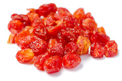 Dried Cherries Tomatoes Candied fruit Royalty Free Stock Images