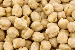 Dried chick peas Royalty Free Stock Images