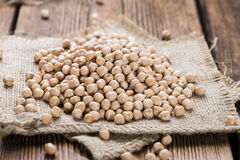 Dried Chick Peas Royalty Free Stock Image