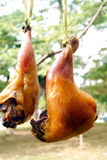 Dried chicken leg Stock Images