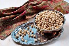 Dried chickpea garbanzo bean Stock Image