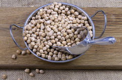 Dried chickpeas Stock Images