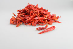 Dried chili Royalty Free Stock Image