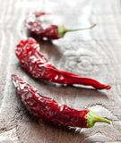 Dried chili pepper Stock Photography