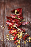 Dried Chili Pepper Stock Image