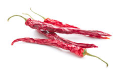 Dried chili peppers. Stock Image