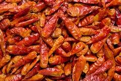 Dried Chilis Stock Photo