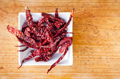 Dried Chilli Royalty Free Stock Photos