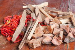 The Dried Chilli Royalty Free Stock Photo