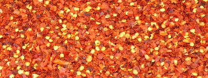 Dried Chilli Flake Background Royalty Free Stock Photography