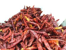 Dried chilli. Is herb Royalty Free Stock Photo