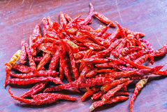 The Dried Chilli Royalty Free Stock Photos