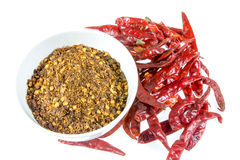 Dried Chilli Royalty Free Stock Images