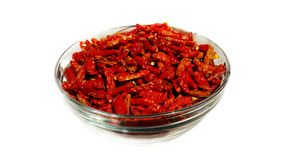 Dried Chilli Pepper Royalty Free Stock Photos