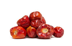 Dried Chillis Stock Image