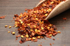 Dried chilly powder Stock Image