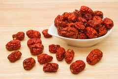 Free Dried Chinese Jujubes Fruits ,chinese Herbal Medicine Royalty Free Stock Image - 54501506