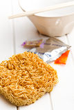 Dried chinese noodles Royalty Free Stock Photo
