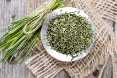Dried Chive Stock Photography