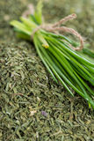 Dried Chive Stock Photos