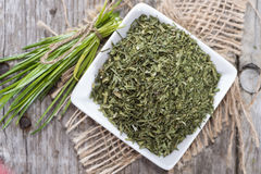 Dried Chive Stock Image