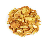Dried Cinnamon Pineapple Chunks Royalty Free Stock Photography