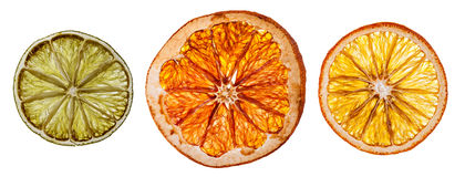 Dried citrus fruit Royalty Free Stock Image