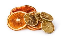 Dried citrus fruit Stock Images