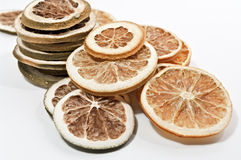 Dried citrus fruits Stock Image