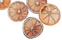 Dried citrus fruits Royalty Free Stock Images