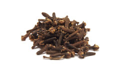 Pile of dried cloves Royalty Free Stock Image