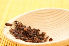 Dried cloves Royalty Free Stock Images
