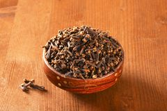 Dried cloves Royalty Free Stock Photo