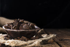 Dried Cola Nuts Stock Photography