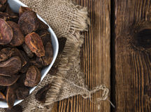 Dried Cola Nuts Royalty Free Stock Photos