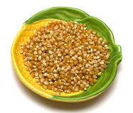 Dried corn Stock Photography