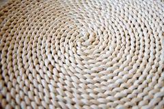 Dried corn husk mat Royalty Free Stock Photo