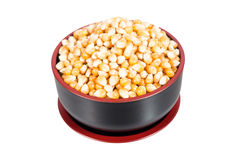 Dried corn seed Stock Photo