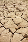 Dried and cracked earth. View of cracked dried earth stock photos