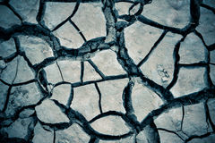 Dried cracked earth soil Stock Photos