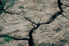 Dried cracked earth soil ground. Texture background royalty free stock images