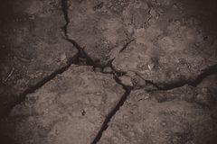 Dried cracked earth soil ground. Texture background royalty free stock photos
