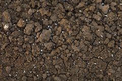 Dried cracked earth soil ground texture background. Outside close up royalty free stock photos