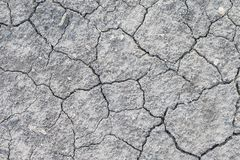 Dried and Cracked ground. Background stock photo