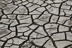 Dried Cracked River Bed Mud Royalty Free Stock Photography